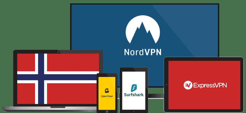 Beste VPN for Norge
